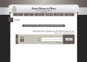 Dr. Ariano Henrique de Oliveira – Sistema de Consulta de Processos