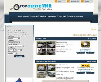Página de listagem de anúncios.