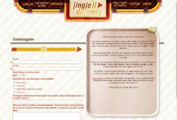 Página de solicitação de orçamento.