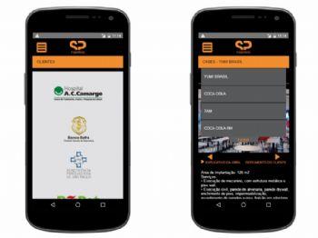 Visualização da versão mobile.