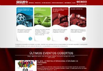 Continuação da página inicial com destaque dos produtos.