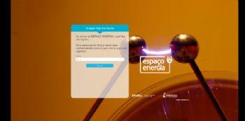 Exemplo da tela de busca de participantes do quiz.