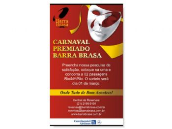 Barra Brasa - Banner Carnaval 2006