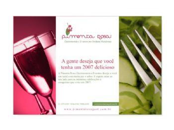 Pimenta Rosa - Cartão de Fim de Ano