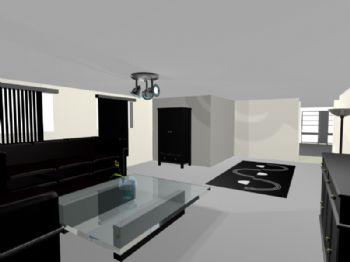 Sala - apartamento 01.