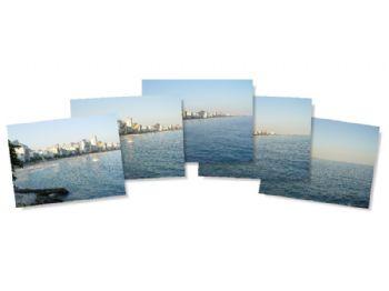Praia do Leblon - fotos originais.