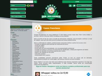 Exemplo de página para conteúdo institucional.