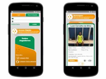 Versão mobile - continuação do exemplo da página inicial.