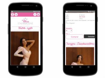 Detalhes do produto - versão mobile.