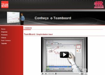 Exemplo de vídeo de apresentação.