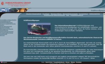 """Foreign Trading Group - 2002<div>Portfólio Completo: <a href=""""https://www.jorgemauricio.com/pt/SiteProdutosDetalhes.aspx?idTbProdutos=1616"""">www.jorgemauricio.com/pt/SiteProdutosDetalhes.aspx?idTbProdutos=1616</a></div>"""