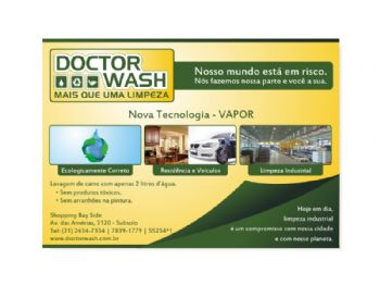 Doctor Wash - Panfleto