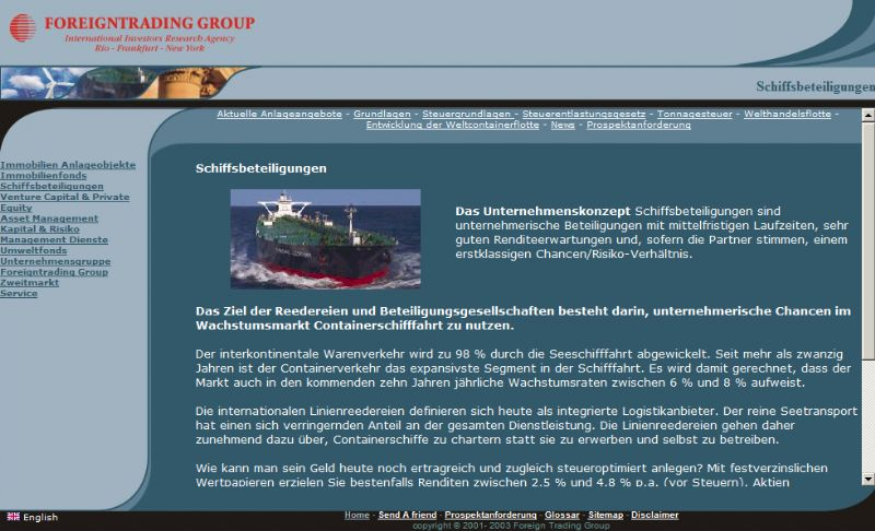 Foreign Trading Group