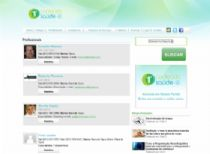 Página de listagem de profissionais disponíveis no portal.