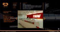 Exemplo de página de detalhes do projeto no portfólio.