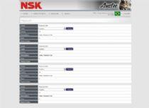 Exemplo da página de listagem de labels do sistema.