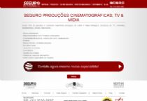 Exemplo de página institucional de um dos produtos, com direcionamento para formulário de cotação de seguros.