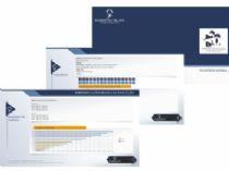 Exemplo dos relatórios gerados pelo sistema, disponíveis em PDF.